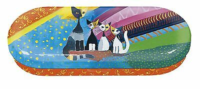 Rosina Wachtmeister Brillenetui Katze Under the Rainbow Brille Etui Neu 1.Wahl