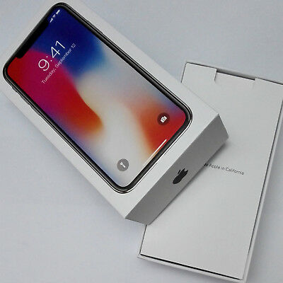 Empty Box Only Retail Packing With Factory Film Seal Wrap For Apple Iphone X