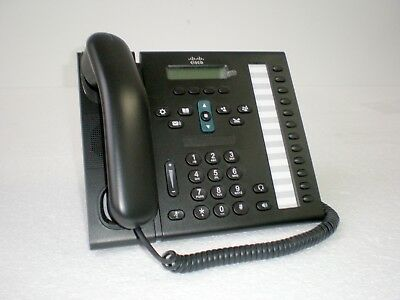 Cisco CP-6961-CL-K9 Unified IP Phone 6961 with footstand