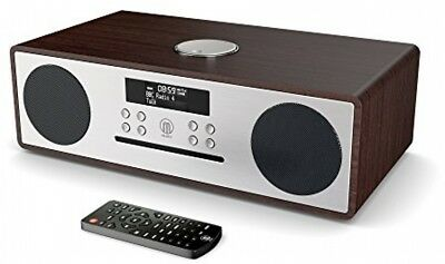 Oakington DAB / DAB+ Digital FM Radio Bluetooth Wireless CD Player Micro Hi-Fi