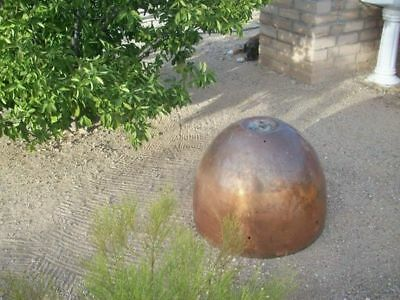 Copper Nose Cone Bullet Shaped Piece - Architectural Salvage