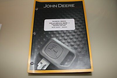 John Deere 350D 400D Articulated Dump Truck Operation Test Service Manual Tm1198