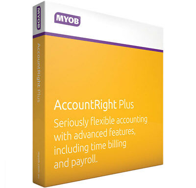 MYOB AccounRight Plus Retail latest No Subscription Email License MPFUL-RET-AU