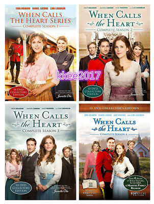 When Calls the Heart: TV Series Complete Seasons 1 2 3 4 Box / 1-4 DVD Set NEW