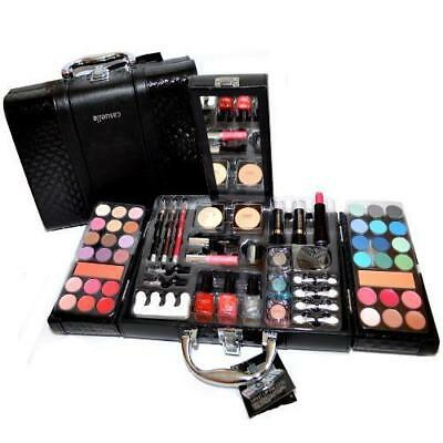 Valigetta Make Up 63 Pezzi Set Trucchi Cosmetici Trousse Palette Pennelli REGALO
