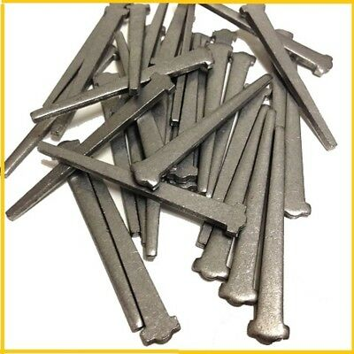 75mm BRIGHT CUT CLASP STEEL NAILS (1 KG) for FLOOR BOARDS - MASONRY NAIL