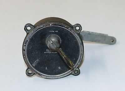 VINTAGE BENDIX AIRCRAFT Type EE Ignition Switch