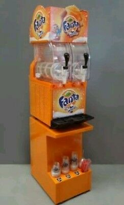 Fanta Coca Cola Commercial Slurpie Slushie Machine Vending Frozen Coke