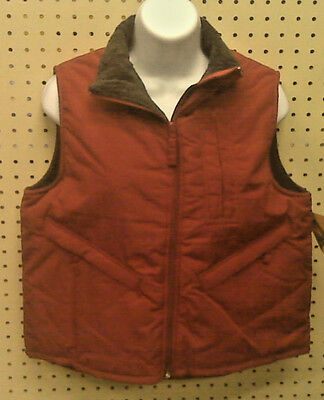 New - Woman's Winter Vest - North Crest - Summer Red - Small 6-8 - Ladies Vest