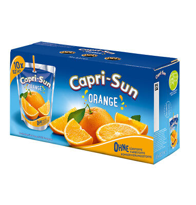 Capri Sun Orange 40 x 200ml Capri Sonne Grosspackung