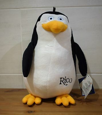 dreamworks presents the penguins of madagascar rico plush toy