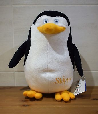 dreamworks presents the penguins of madagascar skipper plush toy