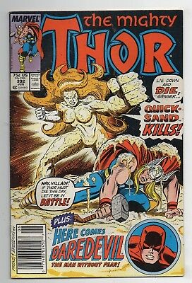 Marvel Comics The Mighty Thor #392 Copper Age