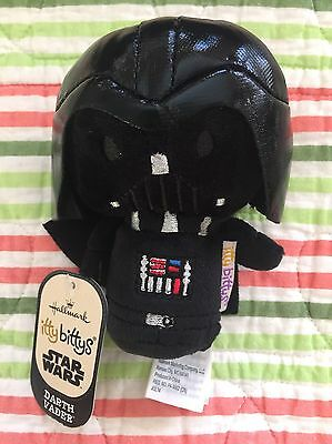 Hallmark ITTY BITTYS STAR WARS DARTH VADER with Tags - New, Collectible
