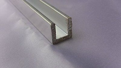 Aluminum Architectural Channel .093 x .5 x .5 x .5 x 96 in. 6063 UAAC