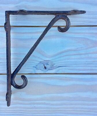 Cast Iron Shelf Bracket Corbel Kitchen Open Shelving Brown