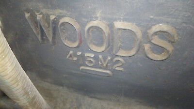 """woods model 415m 6"""" x 24"""" four head planer package"""