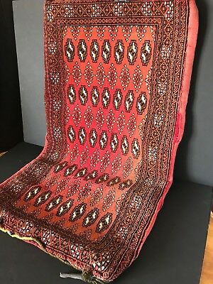 Old Turkish Rug / Cushion Cover, nice colour …beautiful display piece