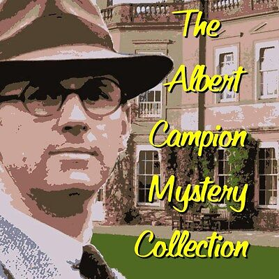 The Albert Campion Mystery Collection Over 160 Hours - ON MP3 DVD