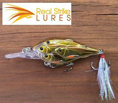 Fishing lures Bream Cod Yellowbelly Trout Barra Bass Redfin Barra