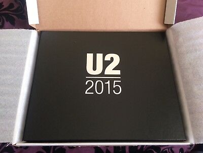 U2 2015 Innocence and Experience Tour Ltd Ed Nos 3,787 of 29,999 VIP Promo Book