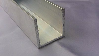 Aluminum Architectural Channel .125 x 1.5 x 1.5 x 1.5 x 96 in. 6063 UAAC