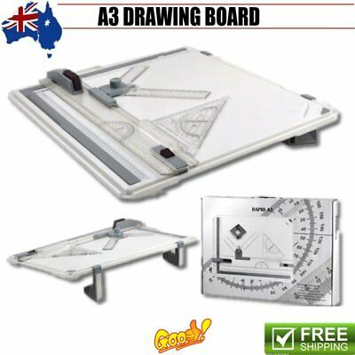 A3 Drawing Board Portable Drafting Table Parallel Motion Adjustable Angle Lot Nd