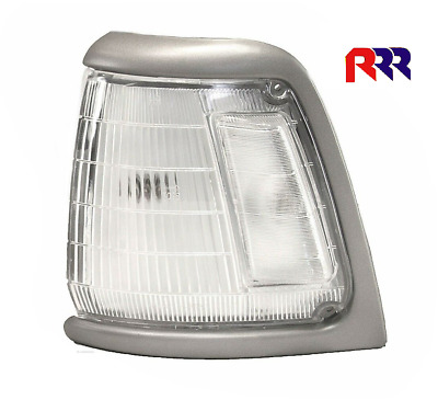 Toyota Hilux Rn85 2Wd 88-97 Corner Light Lamp Gray Rim Clear Lens- Right Side