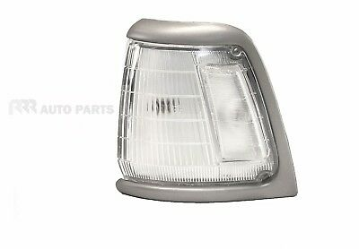 Toyota Hilux Rn85 2Wd 88-97 Corner Light Lamp Gray Rim Clear Lens- Left Side