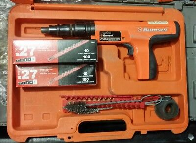 Ramset Red Head RS27 Cobra .27 Cal Powder Aculated Fastener Tool