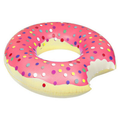 Pumpt: Strawberry Donut - Inflatable Pool Float