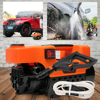 3200PSI Electric High Pressure Cleaner Washer Gurney Water Pump 7M Hose 1800W