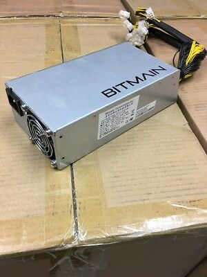 Original AntMiner APW3++ PSU 1600W Power Supply For BTC Miner S9 S7 L3+ D3 A3