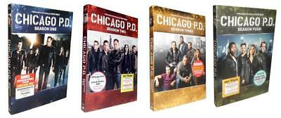 Chicago P.D. - The Complete Seasons 1-4 (DVD, 2017, 21-Disc Set) Chicago PD