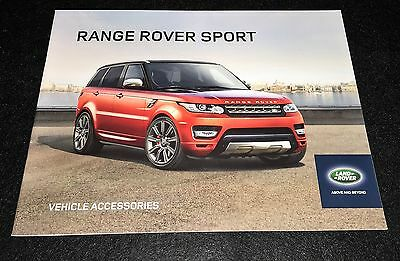 2017  Range Rover Sport  Accessories Brochure  29 Pages  FREE SHIPPING!