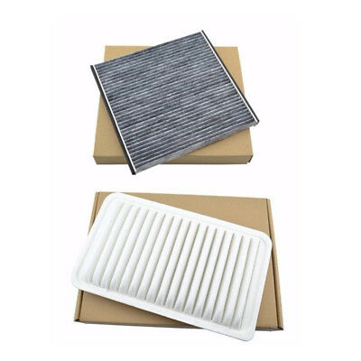 Engine Cabin Air Filter Combo Set Fit for Toyota Camry 02-06 Sienna 2004-2010