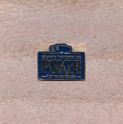 Grand Tournoi De Poker Casino Lac-Leamy Loto Quebec Official Pin New