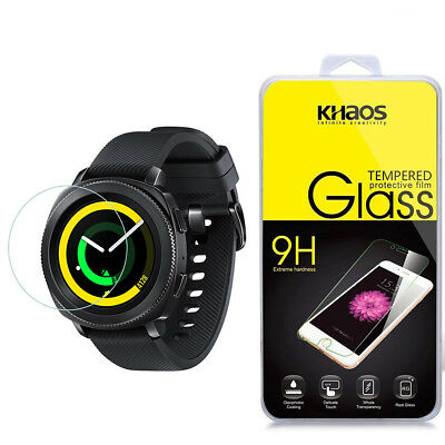 Khaos For Samsung Gear Sport Smartwatch Tempered Glass Screen Protector