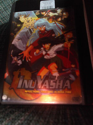 InuYasha the Movie Affections Touching Across Time DVD Video