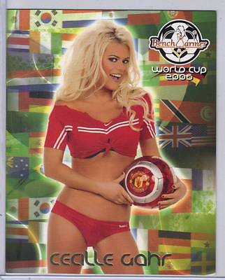 Cecille Gahr 2006 Benchwarmer World Cup Jumbo Oversized #3 Of 5