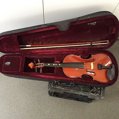 Violin.near New.with Case.31 Cms.1/2 Size.beginners.school