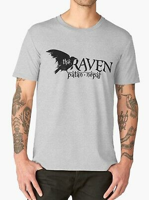 The Raven T Shirt Indiana Jones Cult Movie Classic