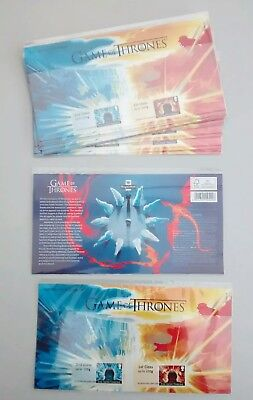 2018 Game of Thrones™ Post and Go Stamp Set Presentation Pack P&G 28