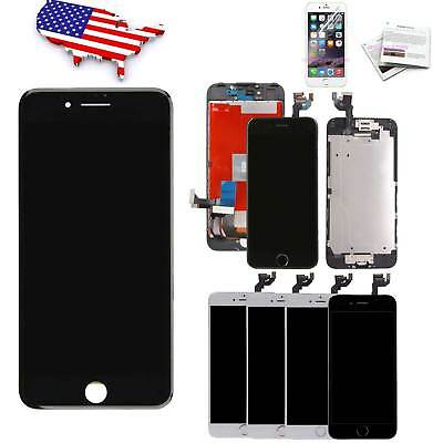OEM For iPhone 7 8 6s 6 Plus LCD Touch Screen Replacement Digitizer +Home Button