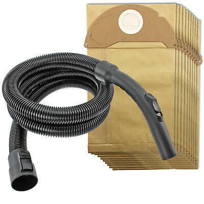 2m Pipe Hose & Handle + 10 Bags for KARCHER Wet & Dry A2004 A2054 A2064 MV2