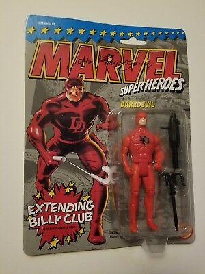 JOHN ROMITA, JR signed DAREDEVIL action figure Marvel Superheroes (Toy Biz 1990)