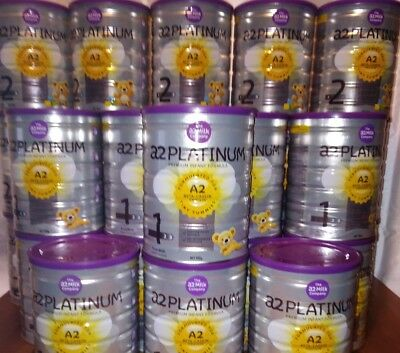 Brand New x10 a2 Platinum Baby Formula Stage 1 exp. 14/07/2019