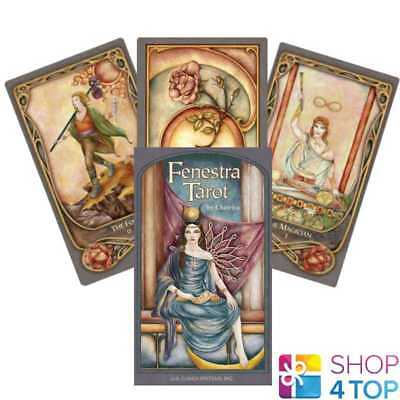 Fenestra Tarot Deck Cards Chatriya Oracle Esoteric Telling Us Games Systems New