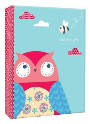 4X6 Owl Photo Album Slip In 80 Photographs Gift Memories Travel Keepsake