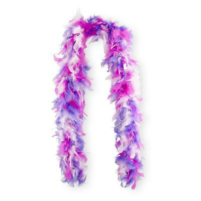 Feather Boa Mix Colour Hen Party Stag Disco Wedding Dance Club Rave purple mix